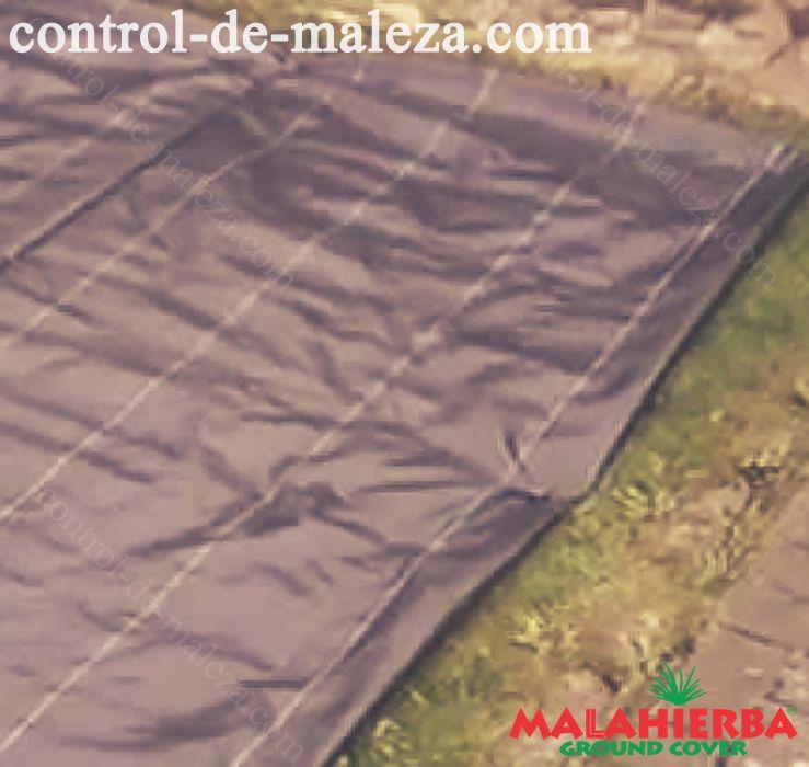 protección de cultivos con malla anti hierbas